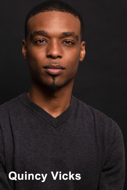 Quincy Vicks actor portrait