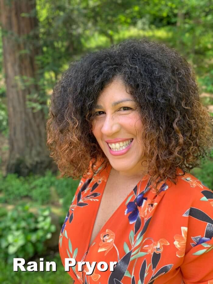 "Rain Pryor who will play ""Justice"""